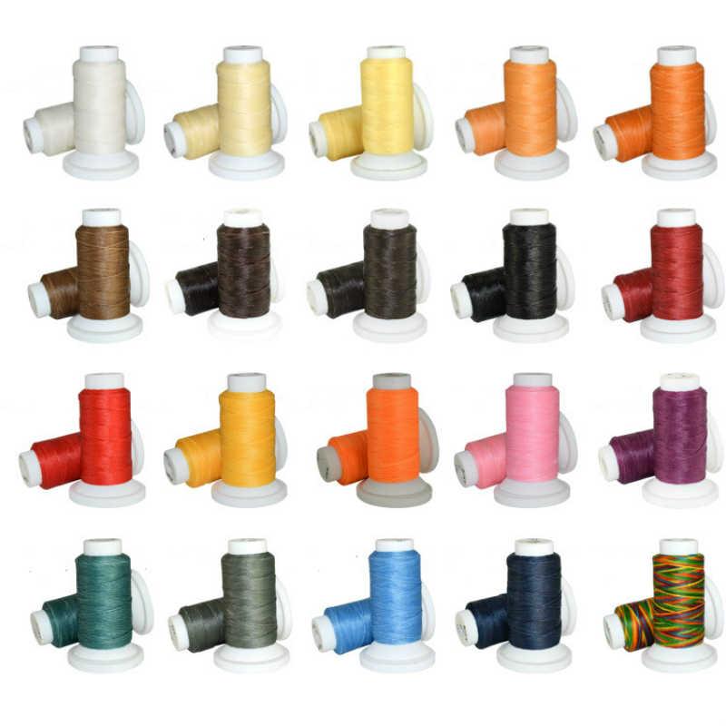 20 الألوان مصبح حبال الخياطة موضوع 50 يارد 0.8 مللي متر اليدوية البوليستر سلسلة حزام قلادة حبل الخرزة للمجوهرات ديي صنع