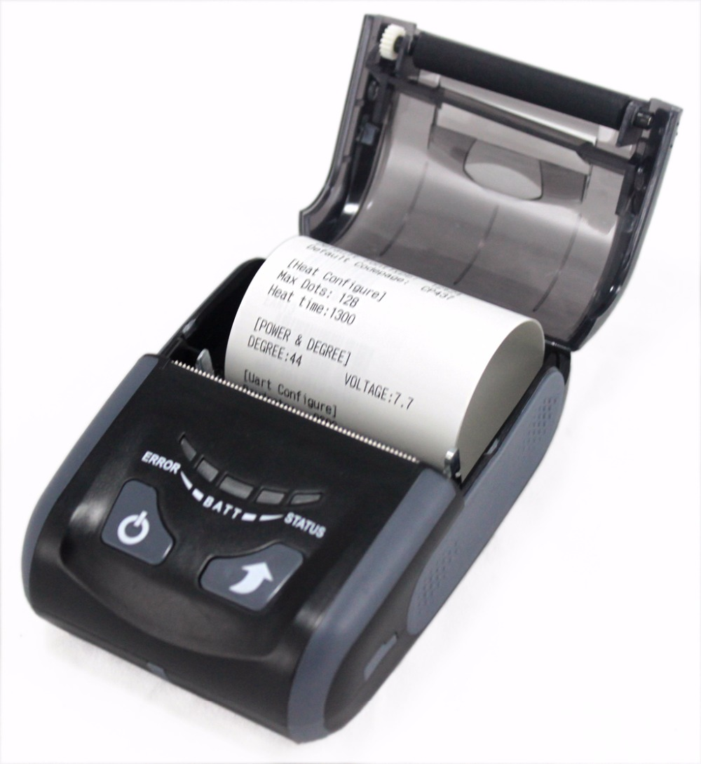 LS200WU 2 Inch Portable Thermal Printer with WIFI+USB Interface for IOS and Android and Windows OS romain marucchi foino game and graphics programming for ios and android with opengl es 2 0