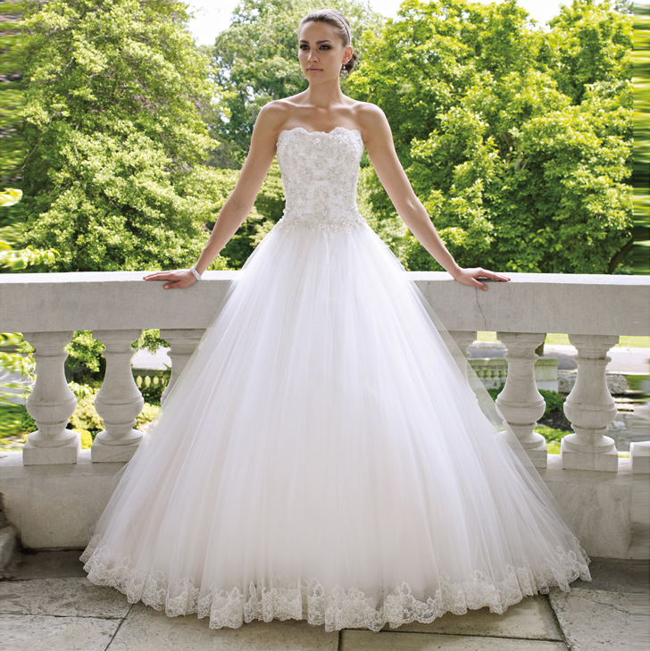 European Version Of The Tube Top Sweet Lace Wedding Qi