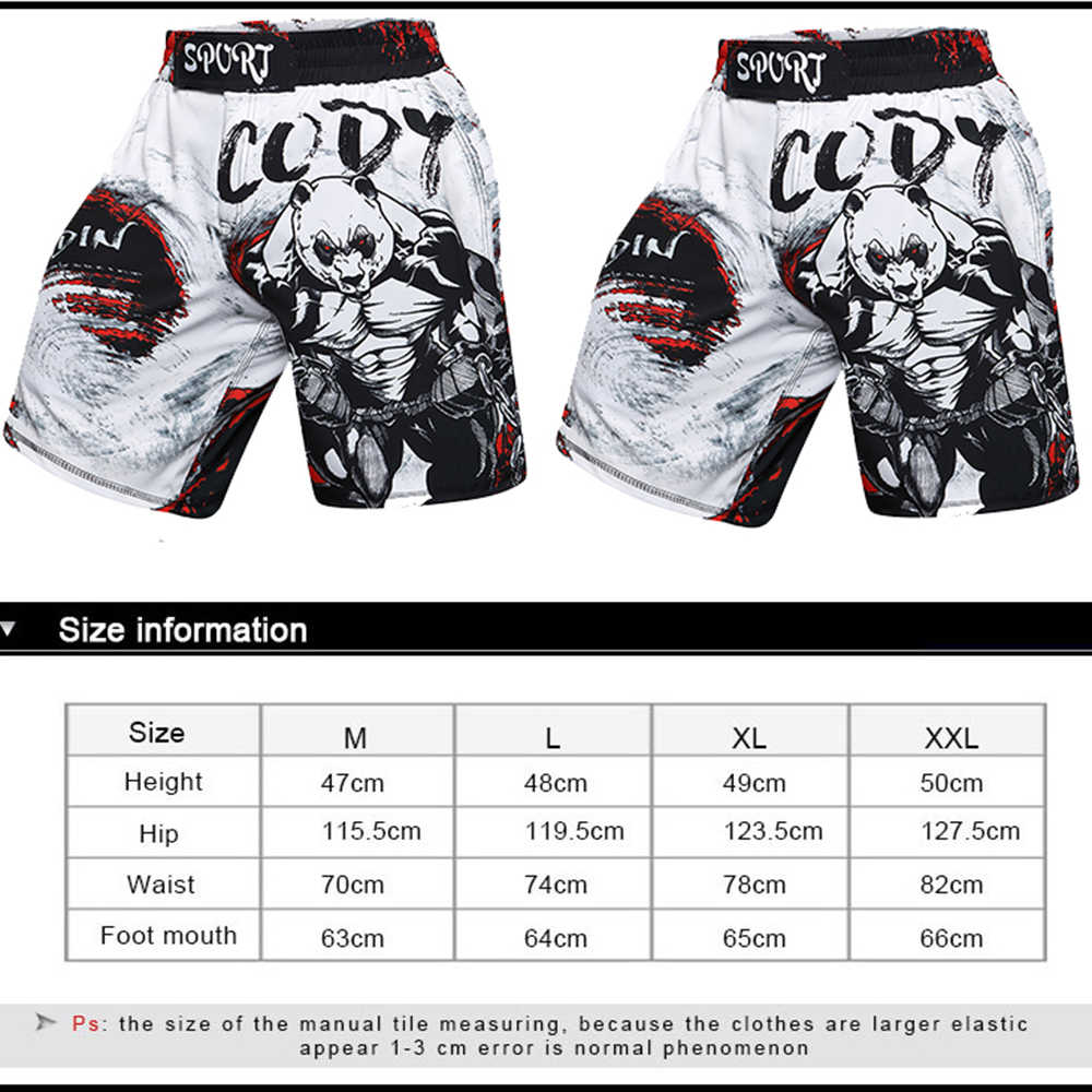 Mma Boxeo t-camisas + Pantalones hombres pantalones cortos MMA lycra mma camisetas trajes Muay thai Jiu Jitsu camiseta de BJJ Boxeo gimnasio chándal