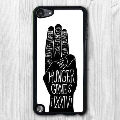 Black White Hunger Games Funny Quotes Protective Hard Cover ...