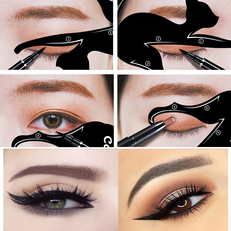 Aliexpress.com : Buy 4pcs Eye Liner Makeup Cat Eye Eyeliner ...