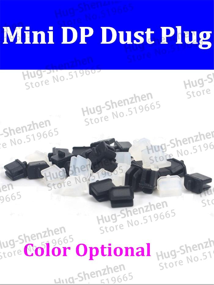 High Quality 200pcs/lot Mini Displlay Port /mini DP Dust Plug For Computer Or Video Card -Black/Transparent White