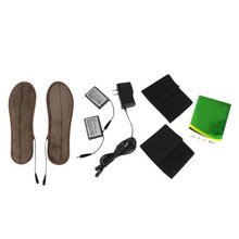 USB Heated Insoles,Rechargeable Electric Battery Warmer Shoes Heater, Quality Winter Keep Warm Electrically Thermal Insole