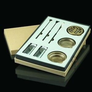 Image 1 - Pinny高品質セット銅香バーナーファイン香炉ツールボックスギフトや工芸家の装飾線香立てアロマ炉