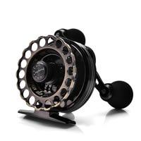 YUYU Full metal Fly Fishing Reel sea water Ice reel Ratio 3.6:1 fish line wheel metal spool bearings 8+1BB Raft Reel weight 190g