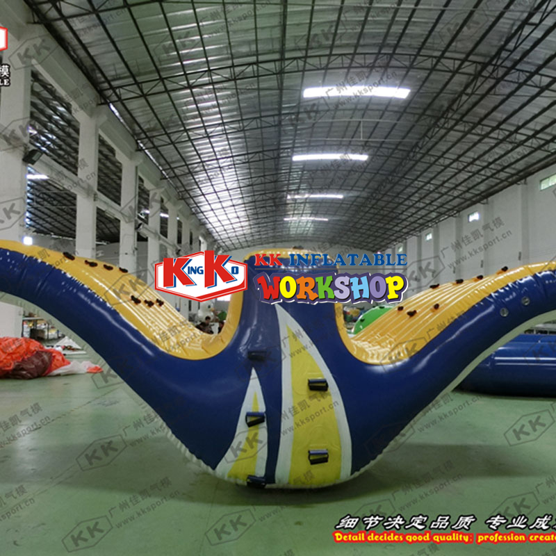 0.9mmPVC Inflatable Seesaw Water Sport Game Floating Toys, Ocean Sports Equipment Boat Inflatable Water Sport