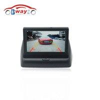 4 3 Inch TFT LCD Car Parking Monitor For Auto Rear View Backup Camera Monitor 480