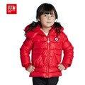 Милый цветок капюшоном девушки пальто дети с капюшоном пальто девушки одежды детская одежда девушки куртки 2016 зимние девушки пальто