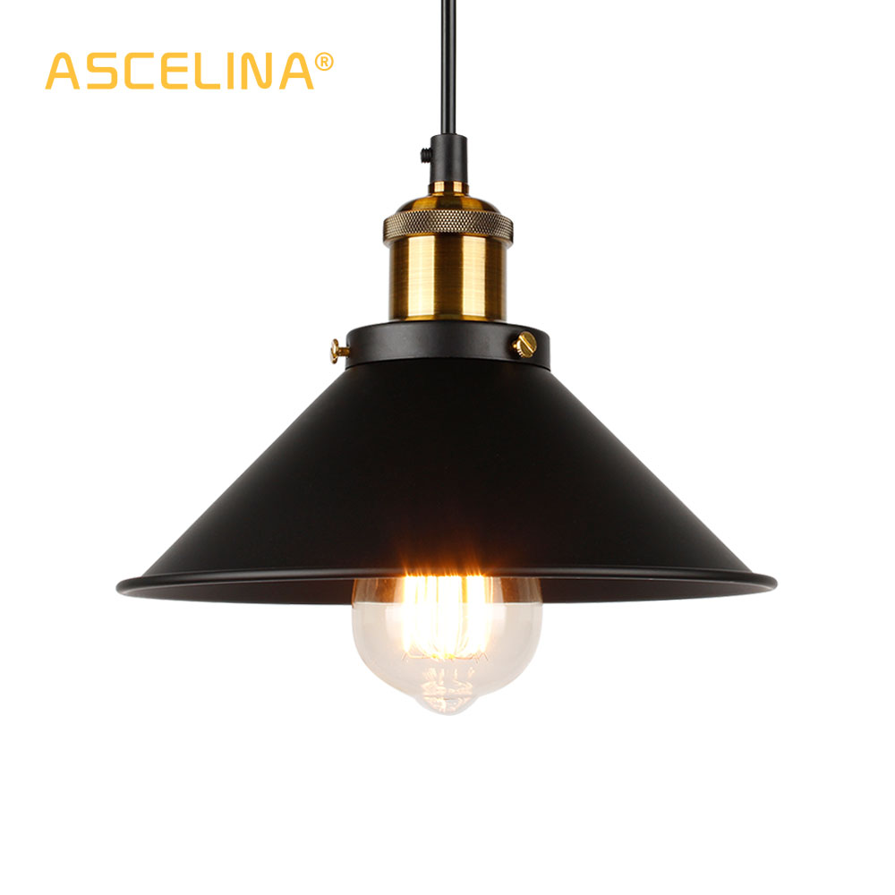 Pendant Light Industrial Pendant Lamp Home Light Fixtures Vintage Pendant Lamp Loft Hanging Lamp Retro Hanging Lights Golden
