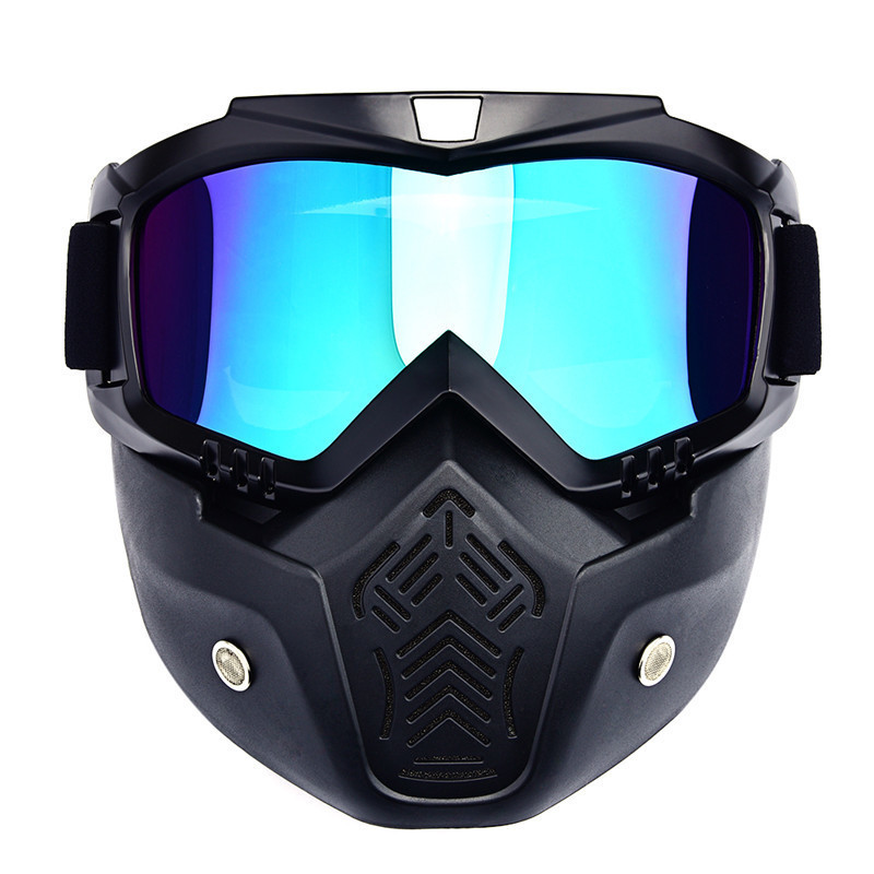 Windproof Riding Sun Ski Glasses Motorcycle Cycling Goggles for Masque Motocross Goggles Helmet Glasses off-Road Mask Goggles