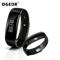 OGEDA Men Women Smart Watch Heart Rate Monitor Passometer Fitness Tracker Waterproof Android Blood Pressure Smart