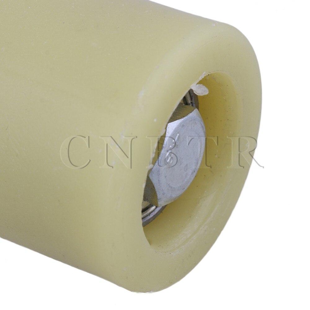 cnbtr M12 50 x 100 mm PP Rueda de acero rodamiento de rodillo gu/ía con 6201 Cojinete para el/éctrico puerta