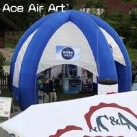 Горячая Распродажа надувная реклама паук палатка надувной шатер, pop up купольная палатка для продвижения