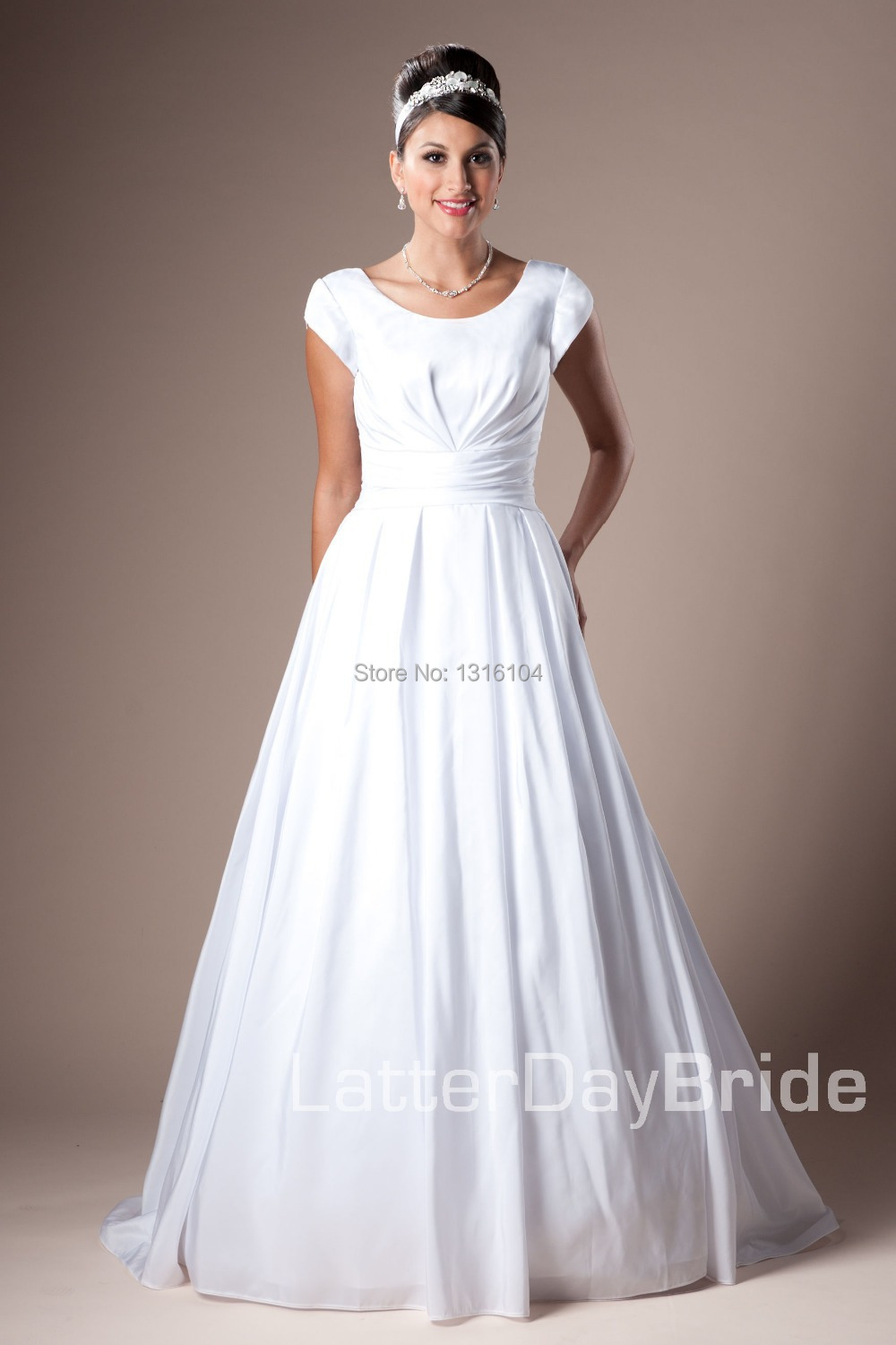 Simple Modest Wedding Dress - Wedding Dress Ideas