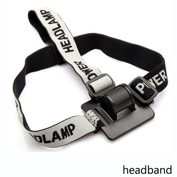 New Headband Helmet Strap Mount Head Strap For LED Headlamp Head Bike Light Cycling Headlight Band Accessories *0.55