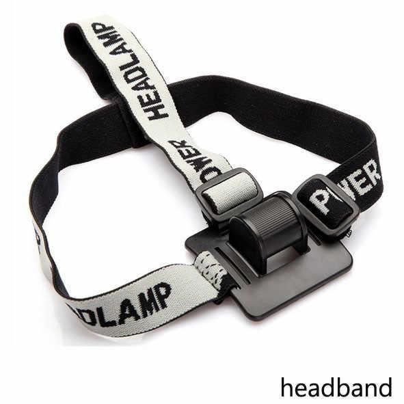 Nouveau bandeau casque sangle de montage tête sangle pour LED phare tête vélo lumière cyclisme phare bande accessoires * 0.55