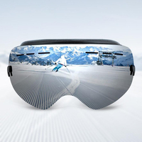 Professional Ski Goggles Double Lens UV400 Anti Fog Adult Snowboard Skiing Glasses Brand Women Men Snow