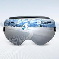 Professional Ski Goggles Double Lens UV400 Anti Fog Adult Snowboard Skiing Glasses Brand Women Men Snow