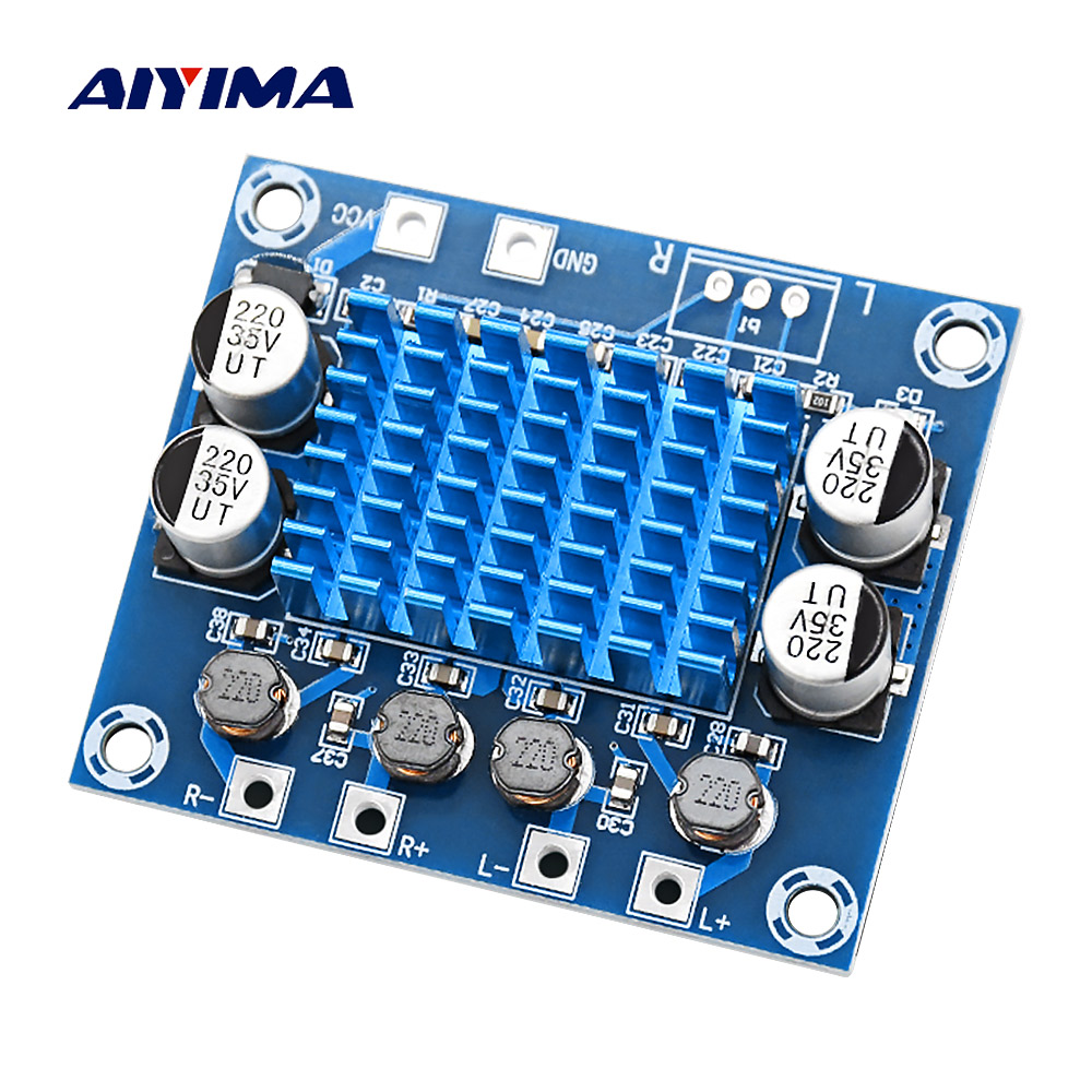 AIYIMA Mini Digital Power Amplifier Board 30W*2 Stereo Audio Amplifier 2.0 Amplificador DIY Home Theater DC8-26V