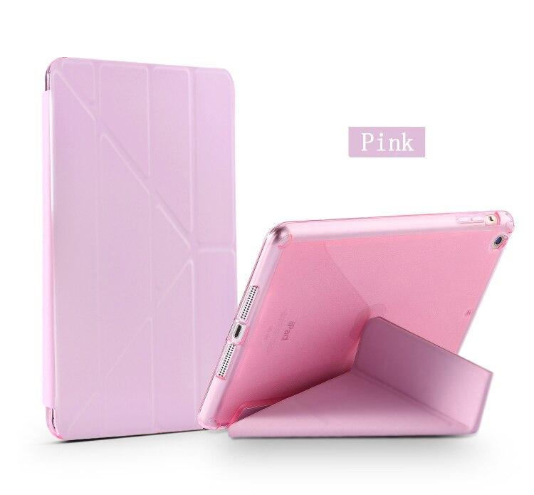 Case For Ipad Pro 10.5 Inch (2017) Multi-Fold PU Leather Cover + TPU Smart Sleep Wake Tablet Case For Apple Ipad