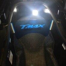 2017 acessórios para motocicleta yamaha tmax 530 2017, compartimento para bagagem, isolamento de placa t max