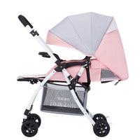 Convertible Handle Lie Flat Umbrella Baby Cart Baby Stroller Travel Portable Four Wheels Cheap Baby Jogger Stroller Lightweight