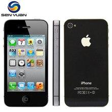 Apple Iphone 4S, Заводская разблокировка, 8 ГБ, 16 ГБ, 32 ГБ, 64 Гб ПЗУ, 3,5 дюймов, 8 Мп, двухъядерный, 3G, GSM, WCDMA, WIFI, GPS, IOS, мобильный телефон