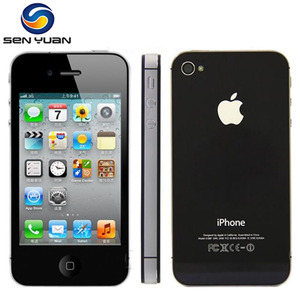 Original Apple Iphone 4S Factory Unlocked 8GB 16gb 32gb 64gb ROM 3.5'' 8MP Dual Core 3G GSM WCDMA WIFI GPS IOS Used mobile phone