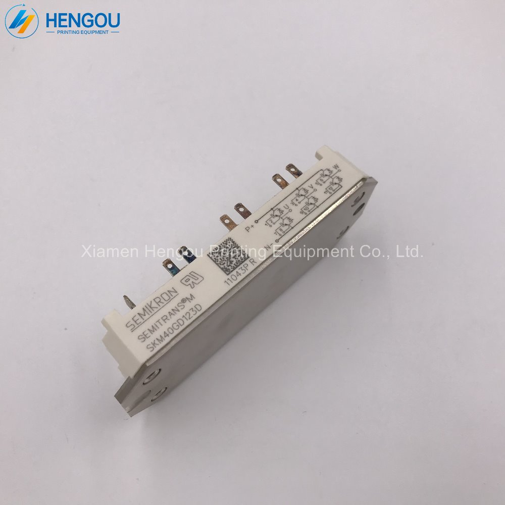 цена 1 Piece new Heidelberg KLM circuit board card support SKM40GD123D Printing board KLM4 Parts