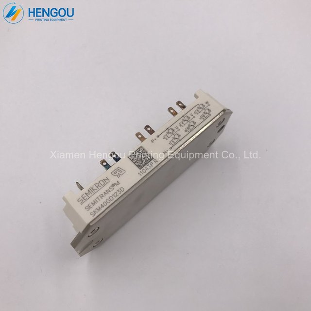1 Piece new offset KLM circuit board card support SKM40GD123D Printing board  KLM4 Parts 2dfb350965bc