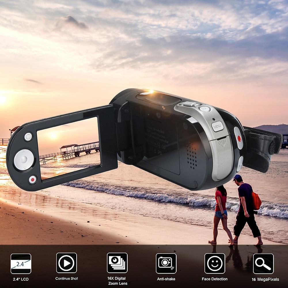 HIPERDEAL Fashion Video Camcorder HD 1080P 16.0MP Handheld Digital Camera 16X Digital CMOS Sensor DV Recorder Digital Camera
