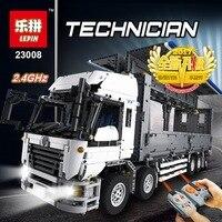 Лепин 23008 техника серии 4380 шт. MOC грузовик модель здания Конструкторы кирпичи наборы совместимый мальчик подарки на день рождения LegoINGlys 1389