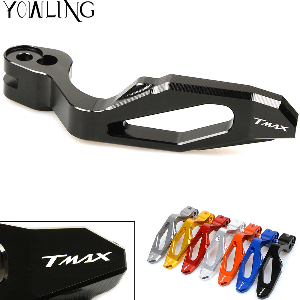 High Quality Motorcycle CNC Aluminum Parking Brake Lever for Yamaha TMAX 500 XP500 2008-2011 T-MAX 530 TMAX 530 X9530 2012-2016 1 pcs motorcycle rear brake rotor disc braking disk for yamaha xp 500 t max 2001 2011 xp500 tmax abs 2008 2011