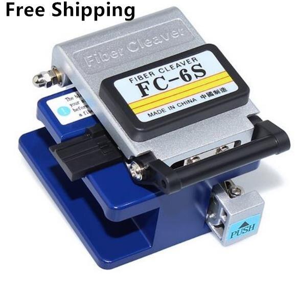 FC 6S fendeur de fibres Contact à froid dédié couteau de coupe en métal FTTH outil de coupe de câble