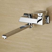 L16822 хромированная латунь отделка Материал настенный Кухонная мойка кран