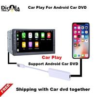 Carlinke USB Smart Link Apple Carplay Dongle Box For Android Navigation DVD Radio Player Mini USB