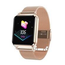 Бесплатная доставка Новый smart watch водонепроницаемый поддержка сердечный ритм артериального давления оксиметр шаг фитнес-трекер для xiaomi apple телефон
