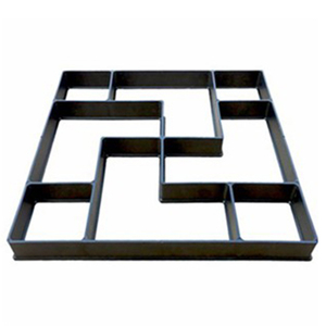 Image 4 - 40*40*4 センチメートルdiy舗装モールドステッピング石畳私道パティオ舗装パスメーカー床デザイン