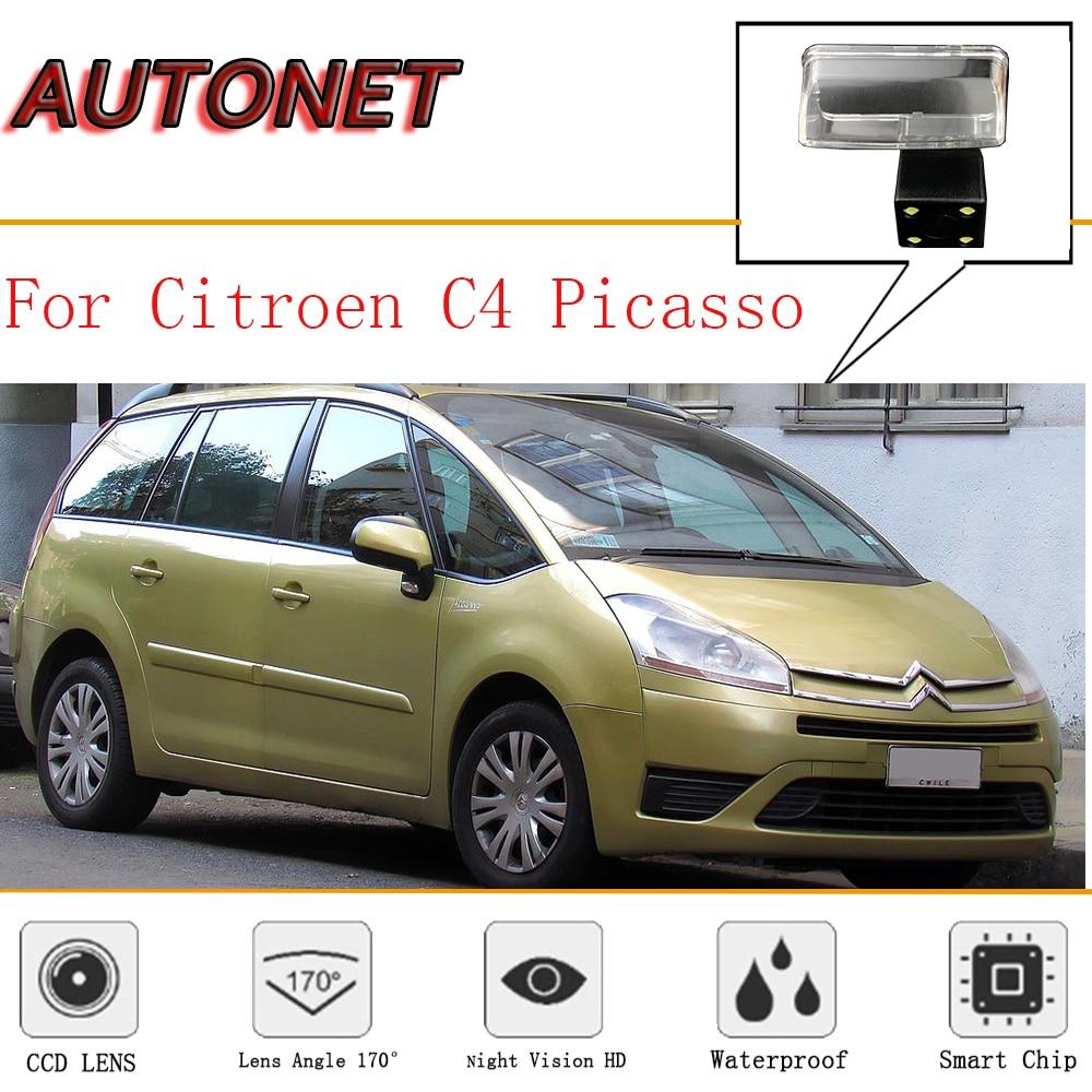AUTONET Rear View Camera For Citroen C4 Picasso 2006~2013 MK1 CCD/Night Vision/ License Plate Camera