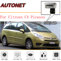 AUTONET Rear View Camera For Citroen C4 Picasso 2006~2013 MK1 CCD/Night Vision/ License Plate camera