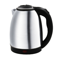 Household Stainless Steel Electric Kettle 2 L 1500W Seller Presented Conversion Plug