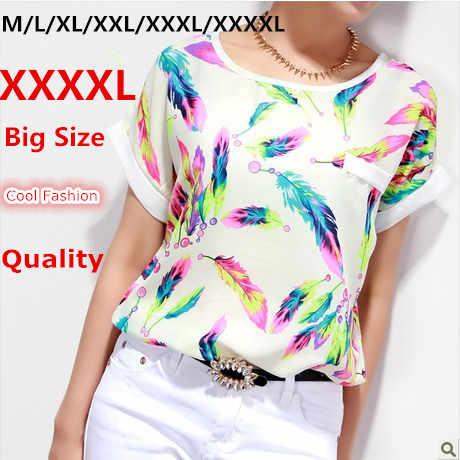 beb568fa3c9 ... Большие размеры блузка XXXXL 6XL плюс женские топы дешевая одежда Китай  тело женский Blusa женские рубашки ...