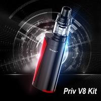 Pluma vape smok priv V8 kit cigarrillo electrónico vs smok Alien ijust S 2 vaporizador e cigarrillo hookah comprar Kit obtener 3 Core envío S177