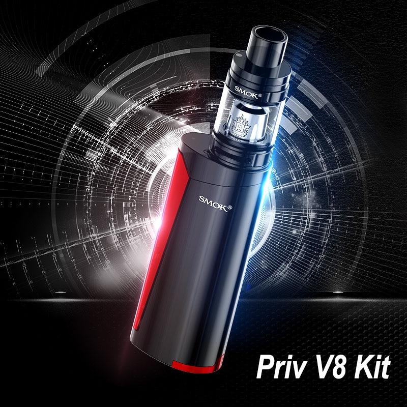 Vape Pen SMOK PRIV V8 Kit Electronic Cigarette VS SMOK Alien iJust S 2 Vaporizer E Cigarette Hookah Buy Kit Get 3 Core Free S177 limitless pulse pod vape pen system