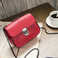 KEYTREND 2016 New Trendy Ladies Casual Crossbody Messnger Bags Women Red Chain Bags Mini Handbags For Party And Shopping KSB218