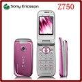Z750 Оригинальный Разблокирована Sony Ericsson Z750 3G Bluetooth Поддержка России и Арабский клавиатура Мобильного телефона Один Год Гарантии