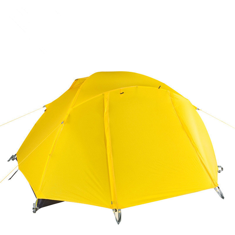 Wnnideo 2 Person Double Layer Tent Outdoor Camping Mountaineering Tent Rainproof Storm Proof Camping Tent outdoor camping hiking automatic camping tent 4person double layer family tent sun shelter gazebo beach tent awning tourist tent