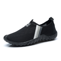 Gym Cross border 2018 Spring New Mesh Breathable Comfort Wear Elderly Sports Shoes Women Sneakers Running Shoes For Men Boots