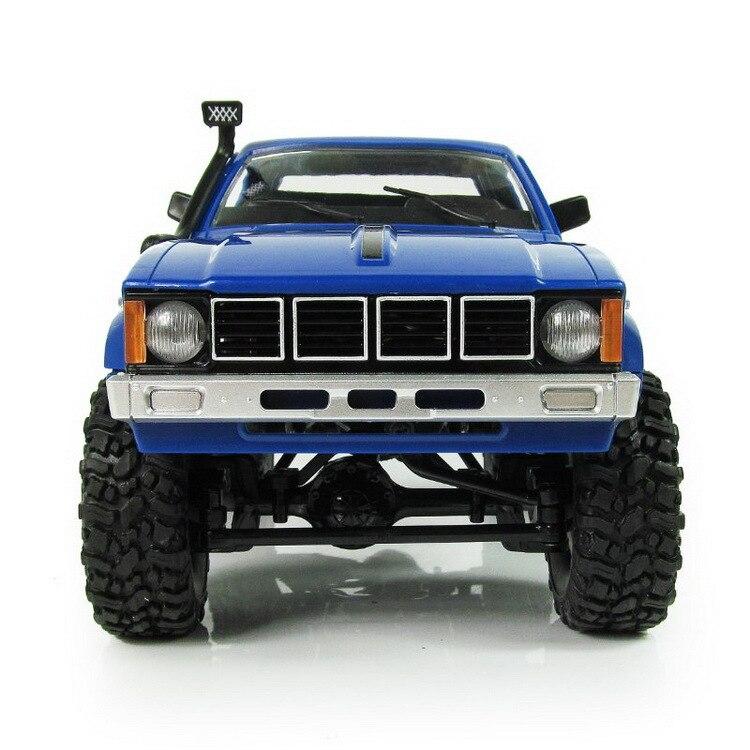 WPL RC voiture C-24 Jeep 4WD RC voiture télécommande jouet 1:16 modèle voiture 2.4G tout-terrain RC haute vitesse camion RTR voiture pour enfant cadeau - 2